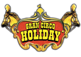 Logotipo Gran Circo Holiday